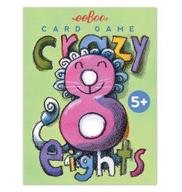eeBoo Crazy Eights Card Game
