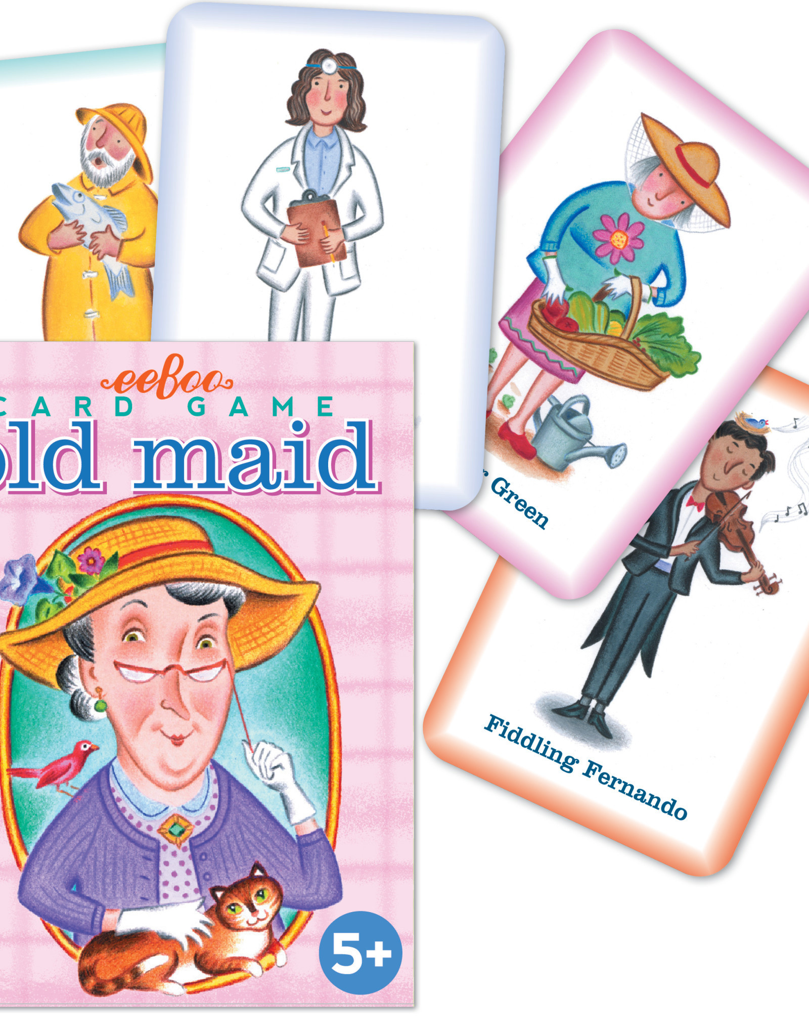 eeBoo Old Maid Card Game