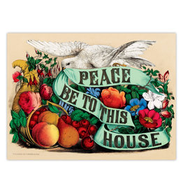 eeBoo Peace Be to This House 500pc Foil Puzzle