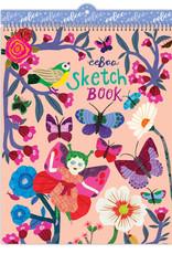 eeBoo Butterflies and Flowers Sketchbook