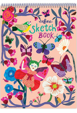 eeBoo Butterflies and Flowers Sketchbook