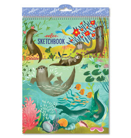 eeBoo Otters at Play Sketchbook