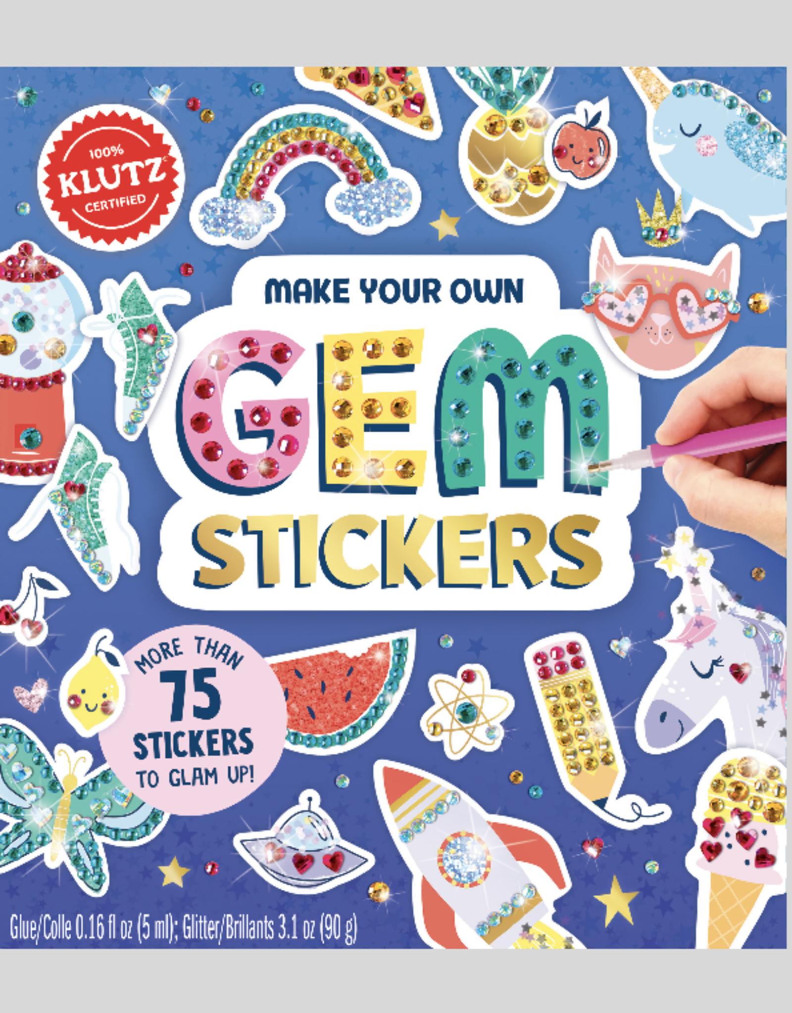 Klutz Make Your Own Gem Stickers