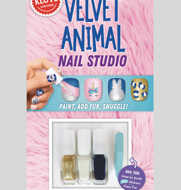 Klutz Mini Kits: Velvet Animal Nail Studio