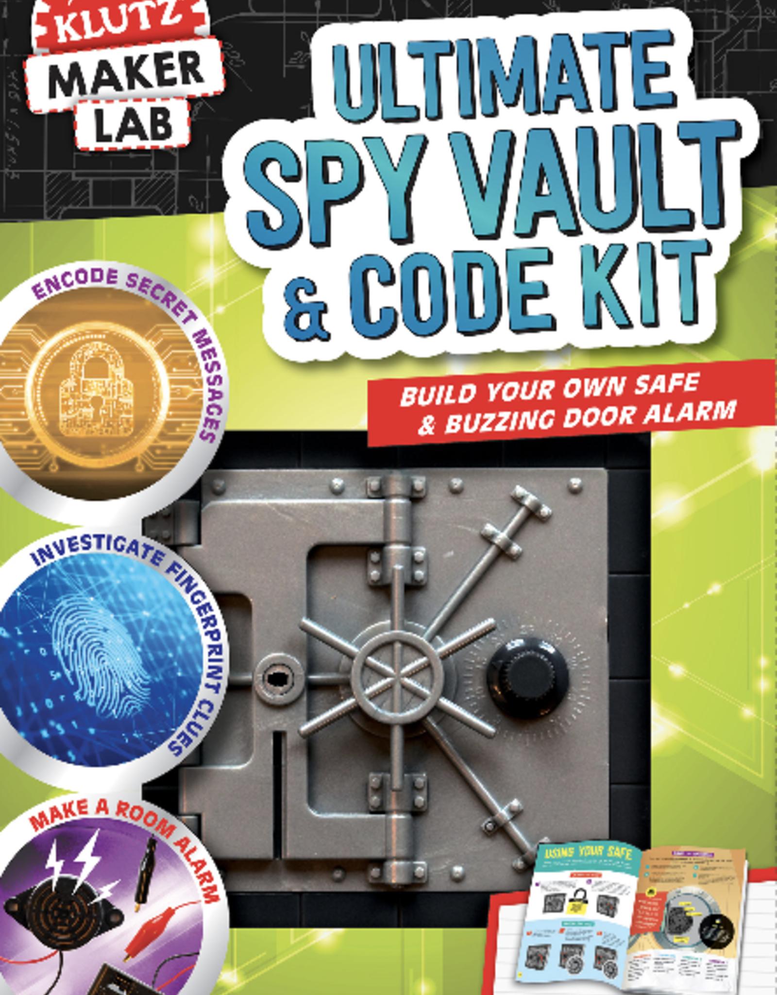 Klutz Maker Lab: Ultimate Spy Vault and Code Kit