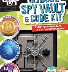 Klutz Maker Lab: Ultimate Spy Vault and Code Kit