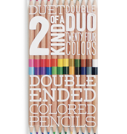 Ooly 2 Of A Kind Double Ended Colored Pencils
