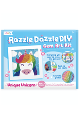 Ooly Razzle Dazzle D.I.Y. Gem Art Kit - Unique Unicorn