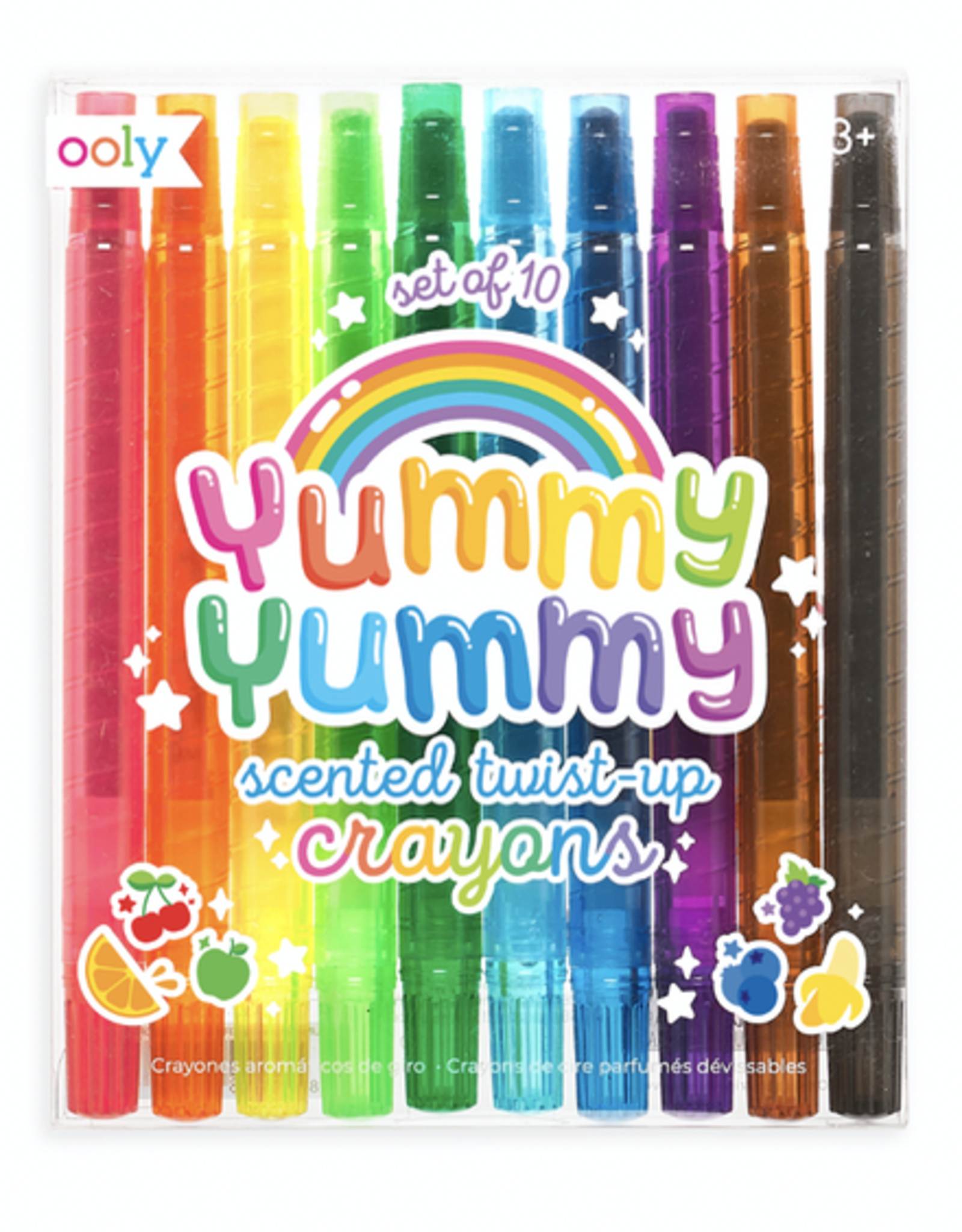 Ooly Yummy Yummy Scented Twist Up Crayons