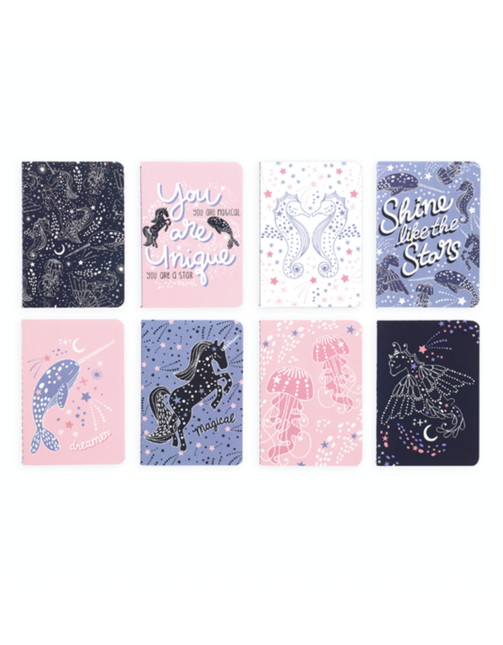 Ooly Mini Pocket Pal Journals - Celestial Stars