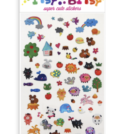 Ooly Itsy Bitsy Stickers - Animal Town
