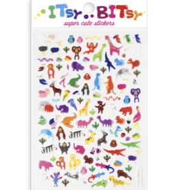 Ooly Itsy Bitsy Stickers - Jungle Pals