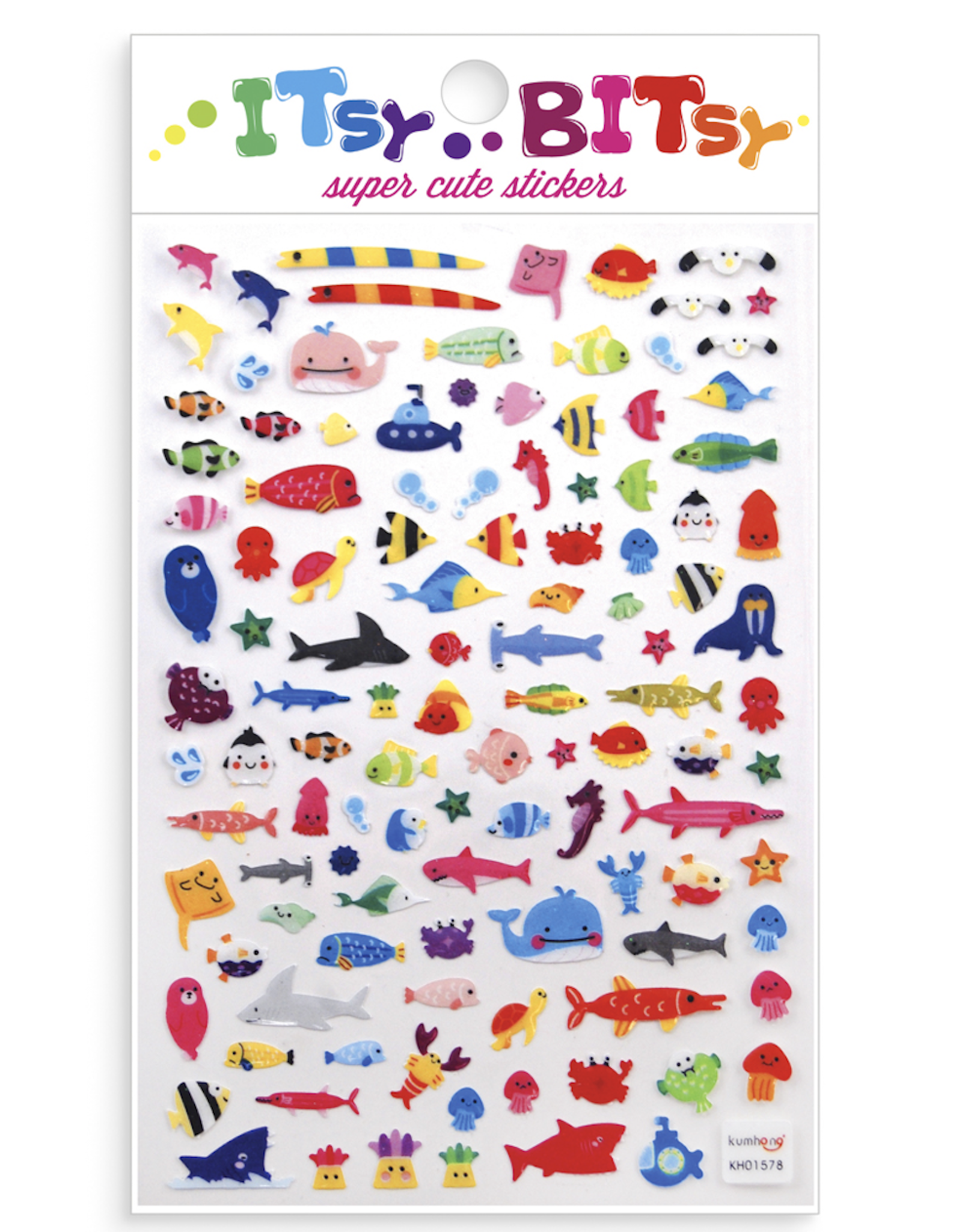 Ooly Itsy Bitsy Stickers - Little Sea Life