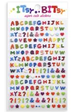 Ooly Itsy Bitsy Stickers - Pattern Alphabet