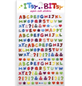 Ooly Itsy Bitsy Stickers - Pattern Alphabet