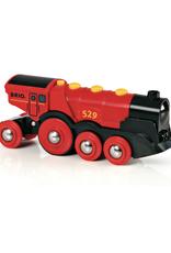 Brio Brio - Mighty Red Action Locomotive