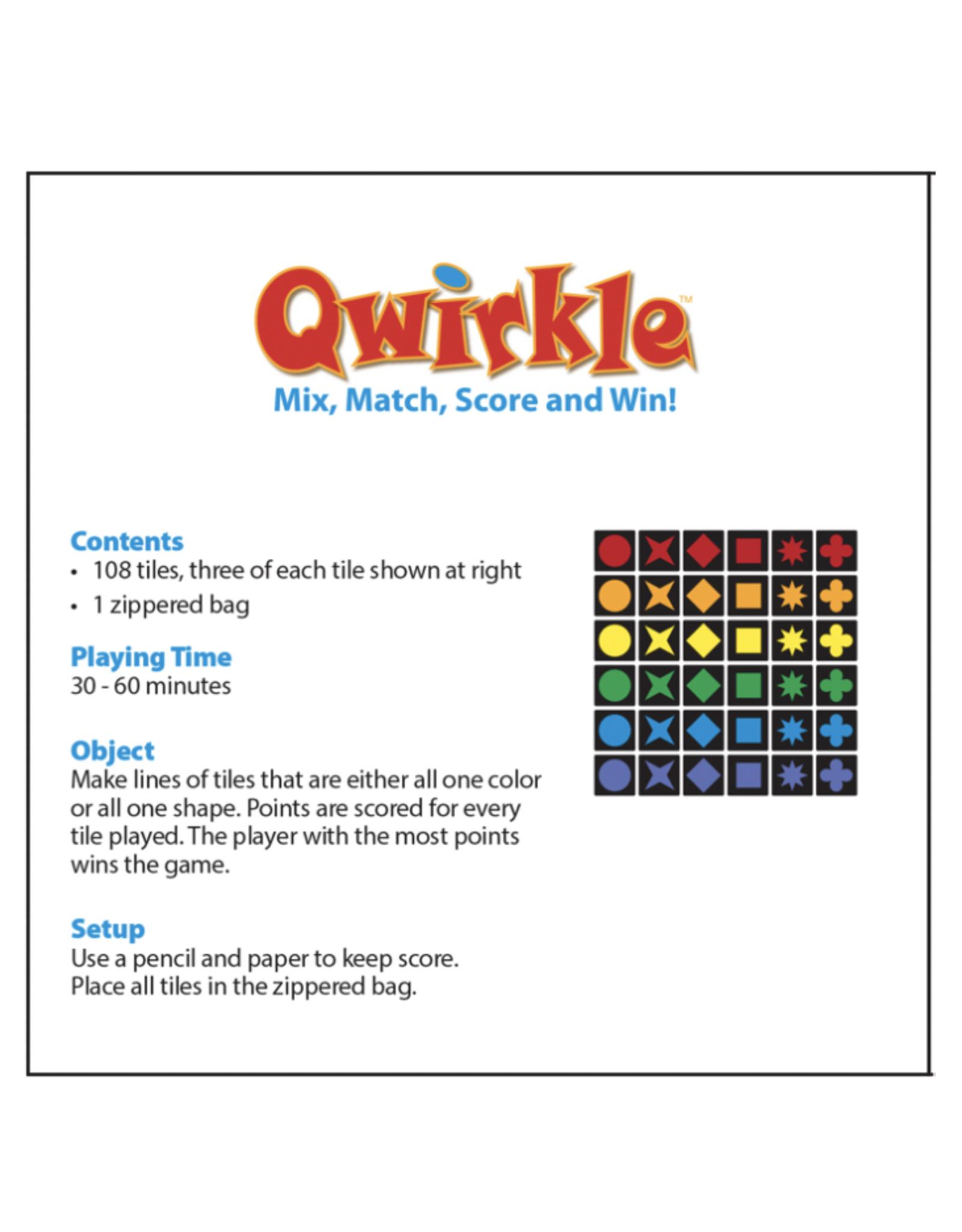 MindWare QWIRKLE Travel Size