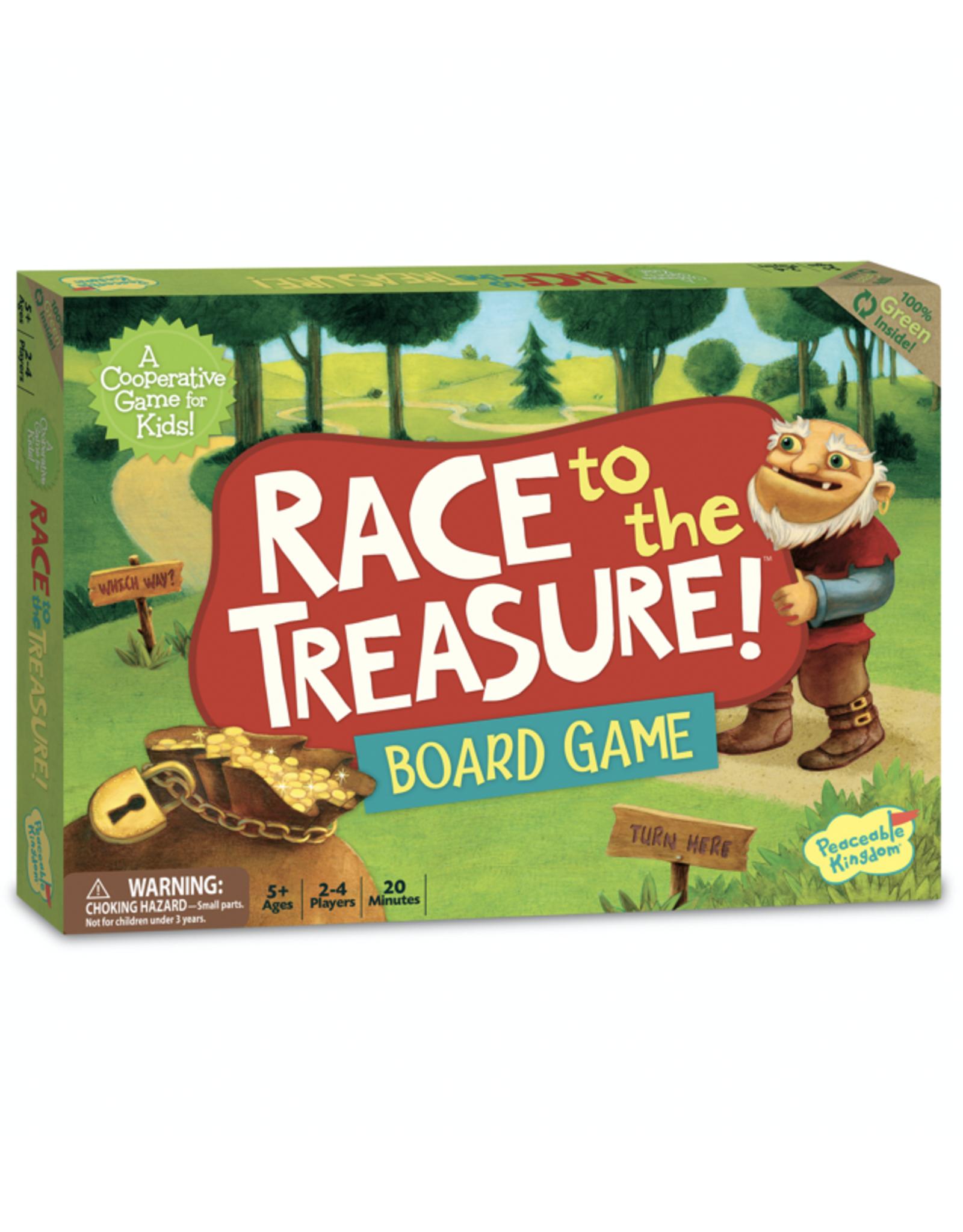 Peaceable Kingdom Race to the Treasure!