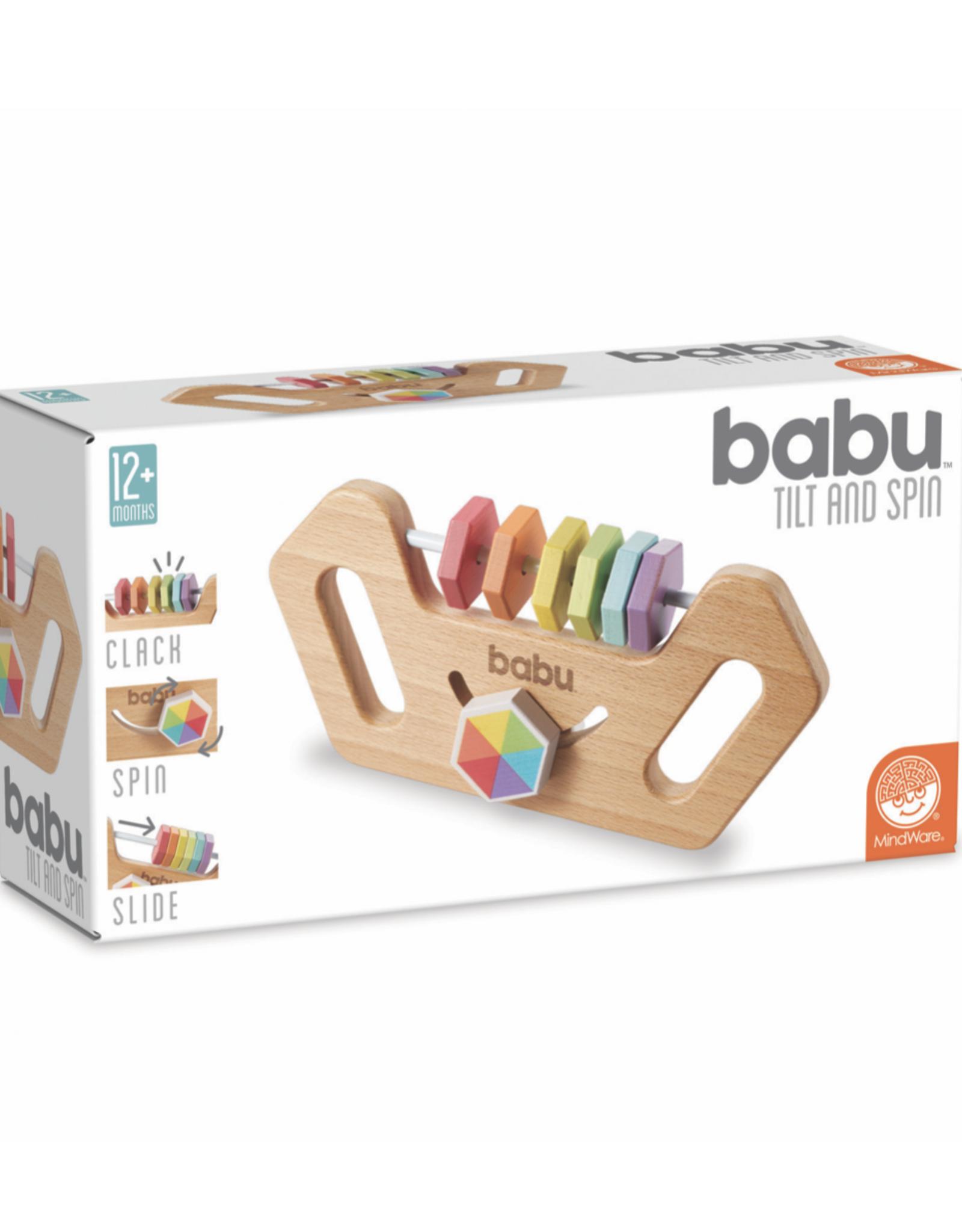 Babu Babu: Tilt and Spin