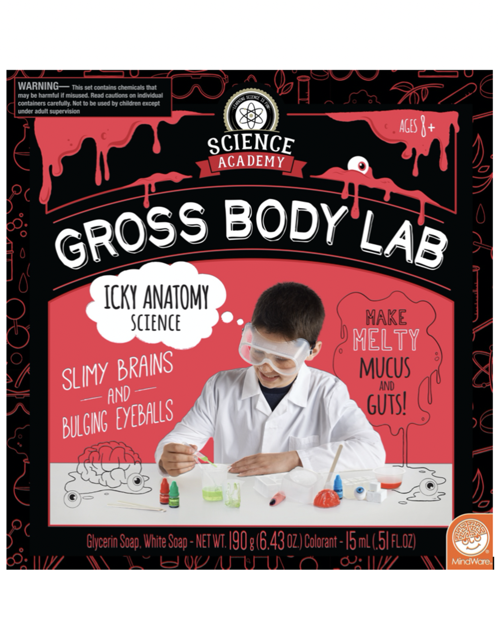 Science Academy Science Academy: Gross Body Lab