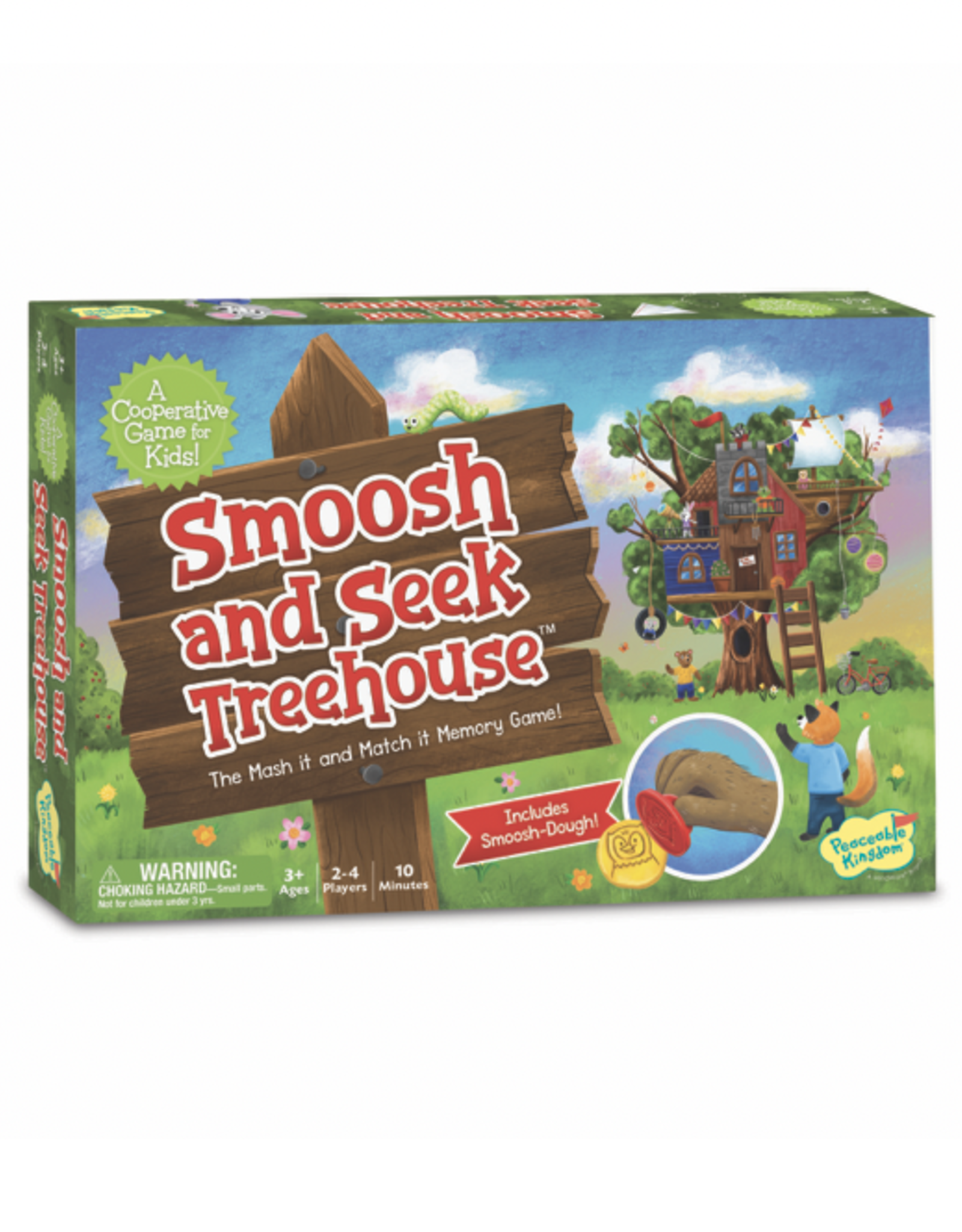 Peaceable Kingdom Smoosh and Seek Treehouse