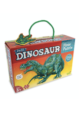 Peaceable Kingdom Shiny Dinosaur Floor Puzzle