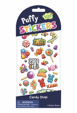 Peaceable Kingdom Puffy Stickers: Candy Shop