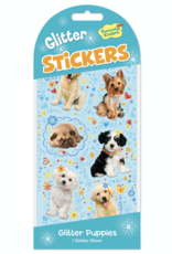 Peaceable Kingdom Glitter Stickers: Puppies