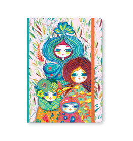 Lovely Paper Muriel Notebook with Elastic Closure