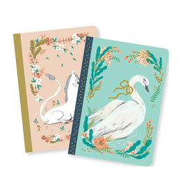 Lovely Paper Unicorn/Swan Lucille Notebooks - Set of 2