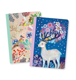 Lovely Paper Birds/Deer Martyna Notebooks - Set of 2