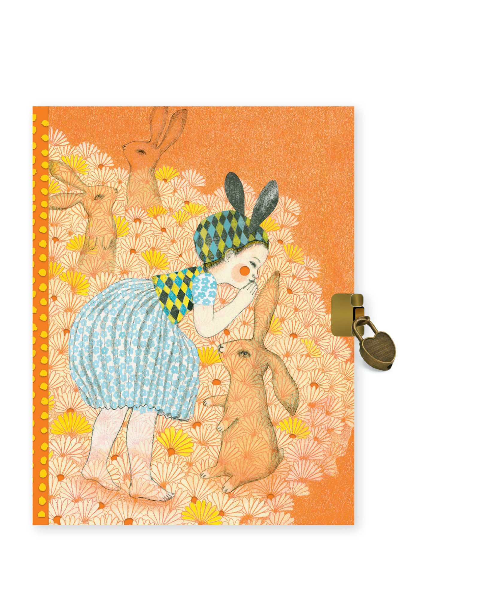 Lovely Paper Elodie Diary with Lock