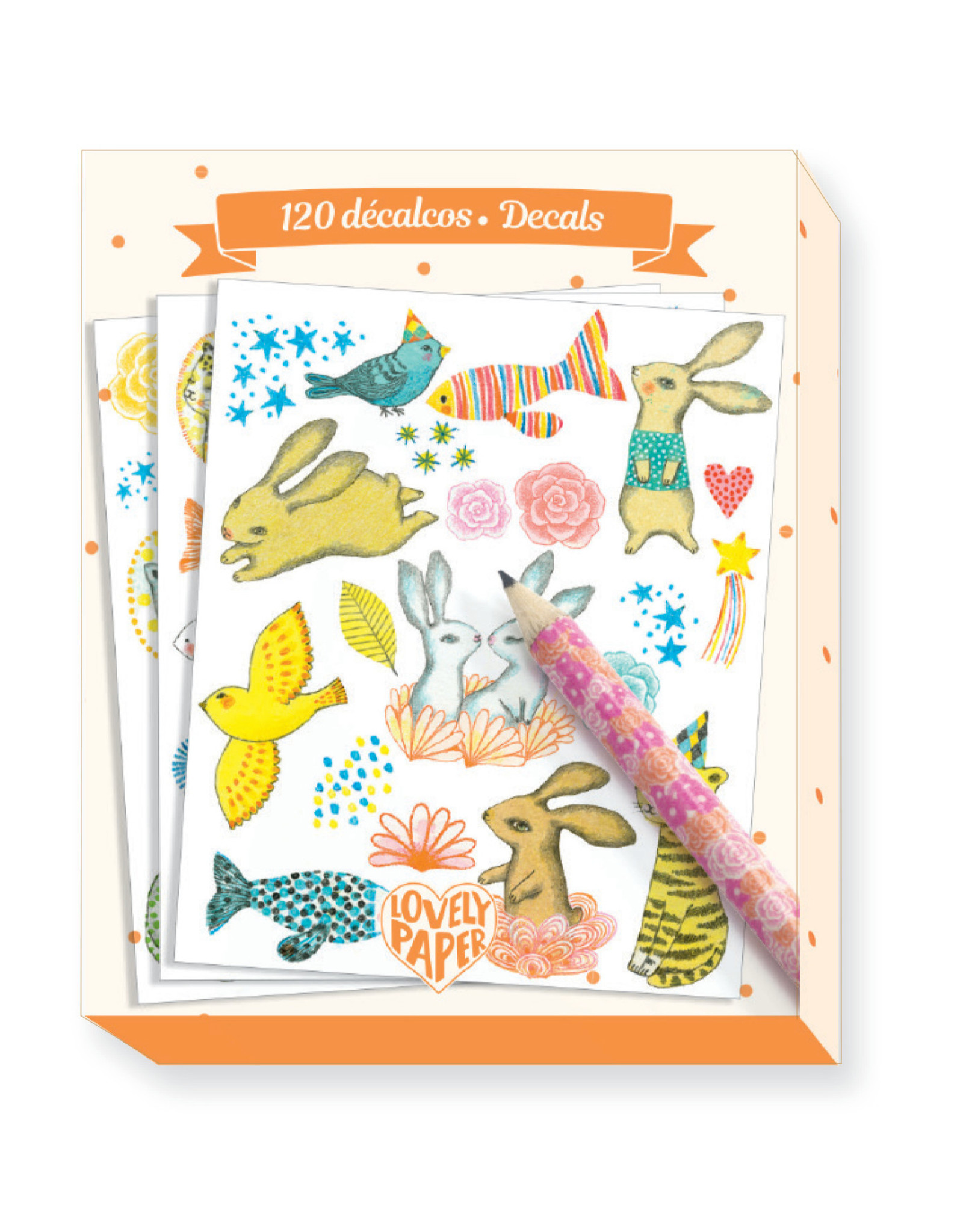 Djeco Elodie Transfer Decals Kit