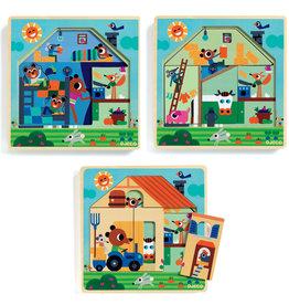 Djeco Wooden Puzzle - Chez Gaby