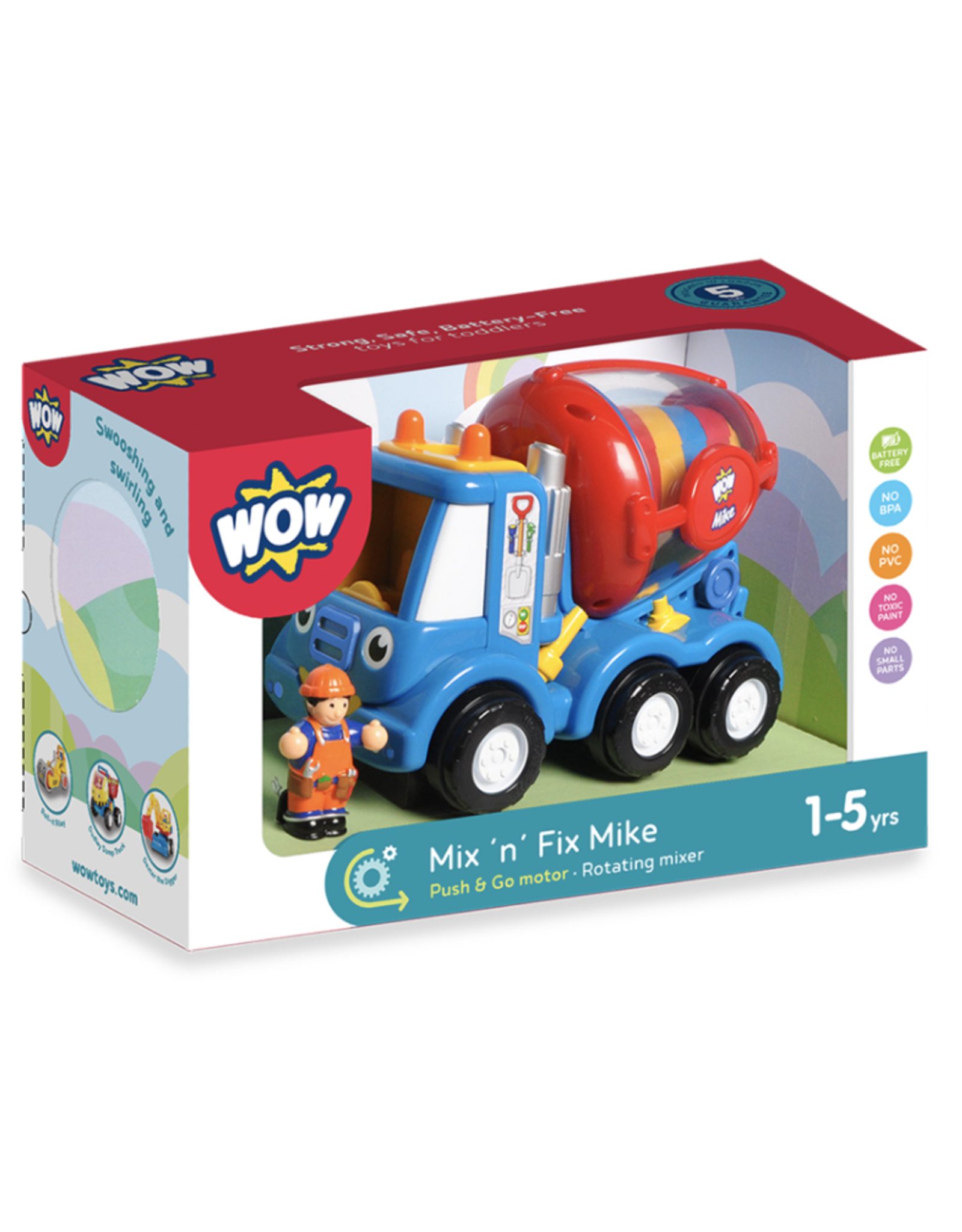 WOW Toys WOW Toys - Mix N Fix Mike