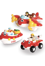 WOW Toys WOW Toys - Fire Rescue 3 in 1 Set