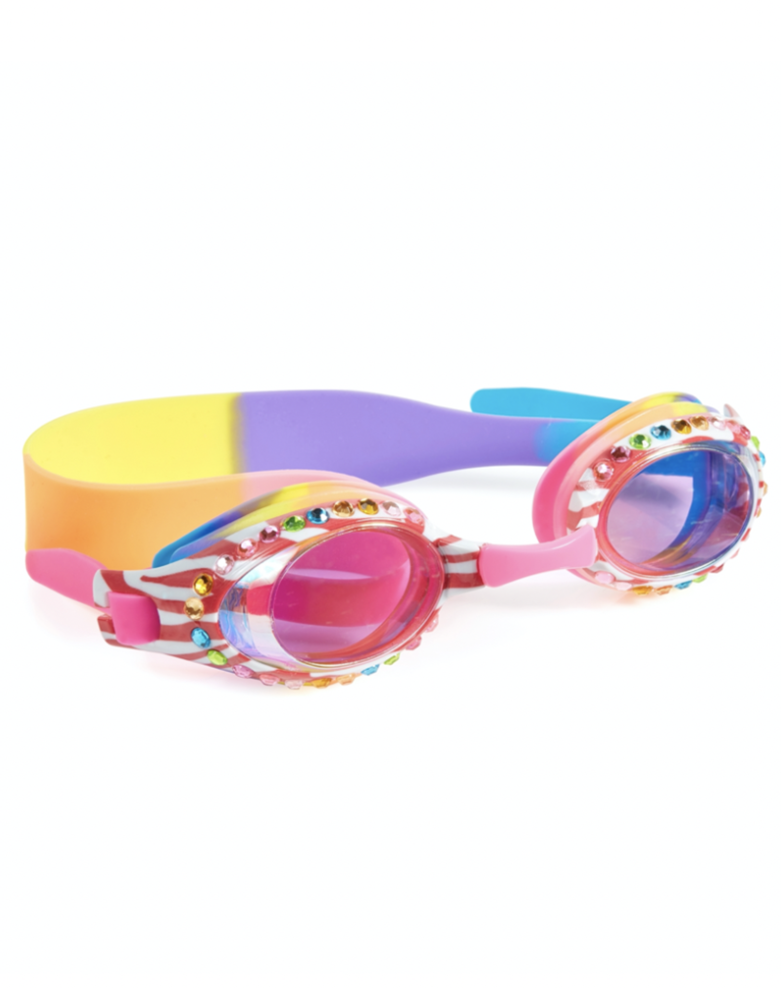 Bling2o Bling2o Goggles - Zebra Fruit Loop Pink