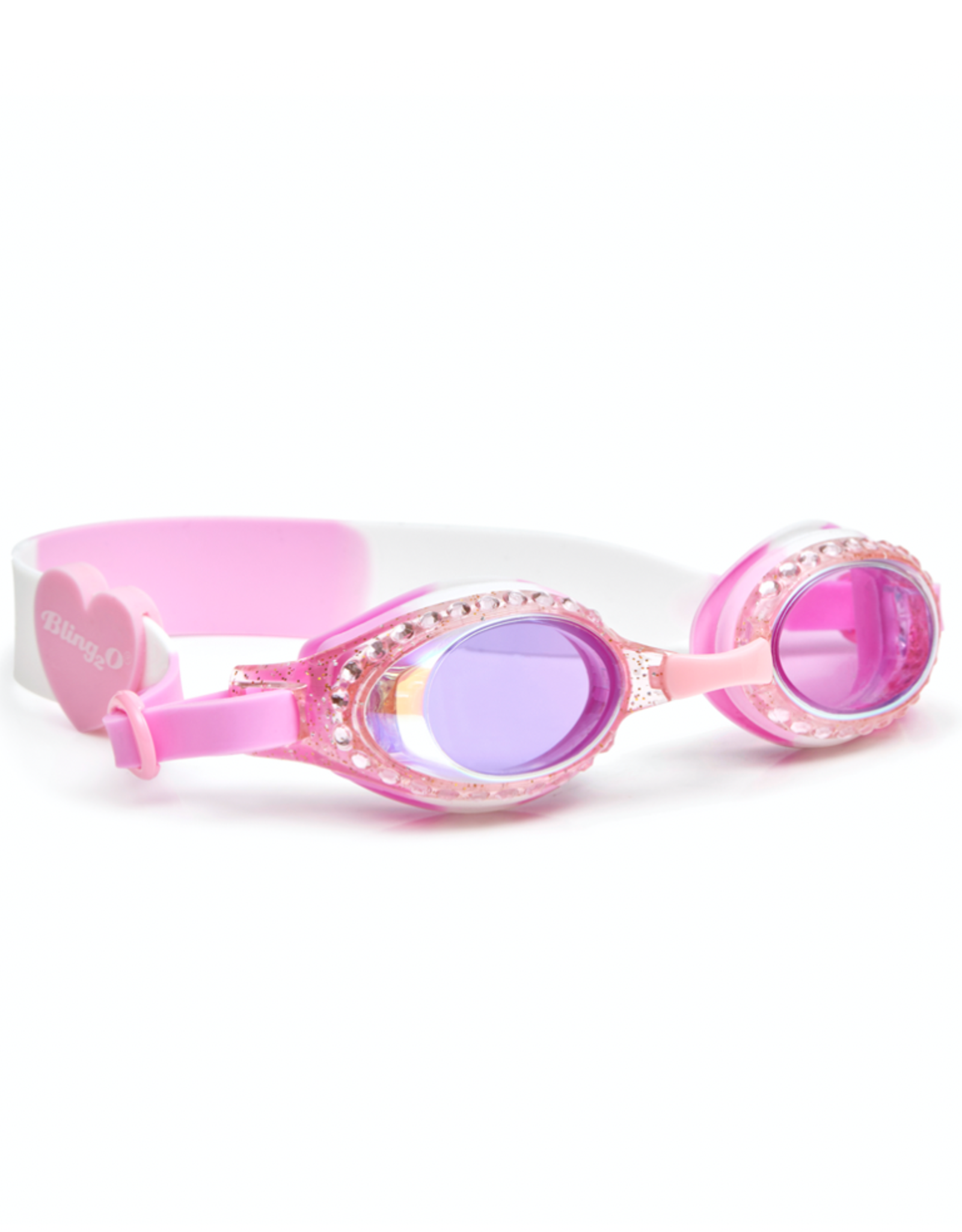 Bling2o Bling2o Goggles - Classic Edition White Cherry Blossom