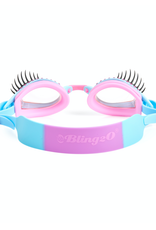 Bling2o Bling2o Goggles - Glam Lash Periwinkle Blue