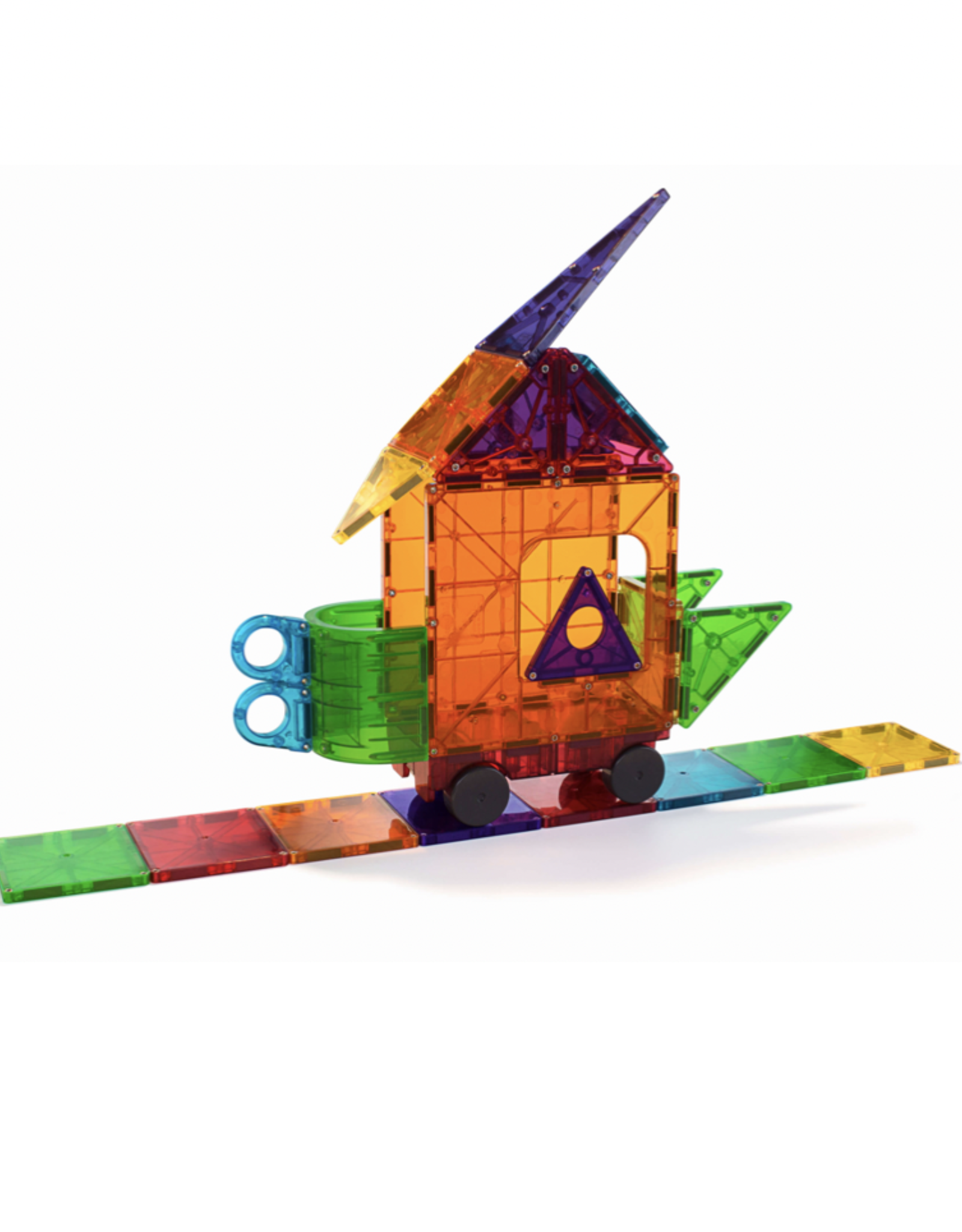 Magnatiles Magna-tiles Clear Colors 48 Piece DX Set