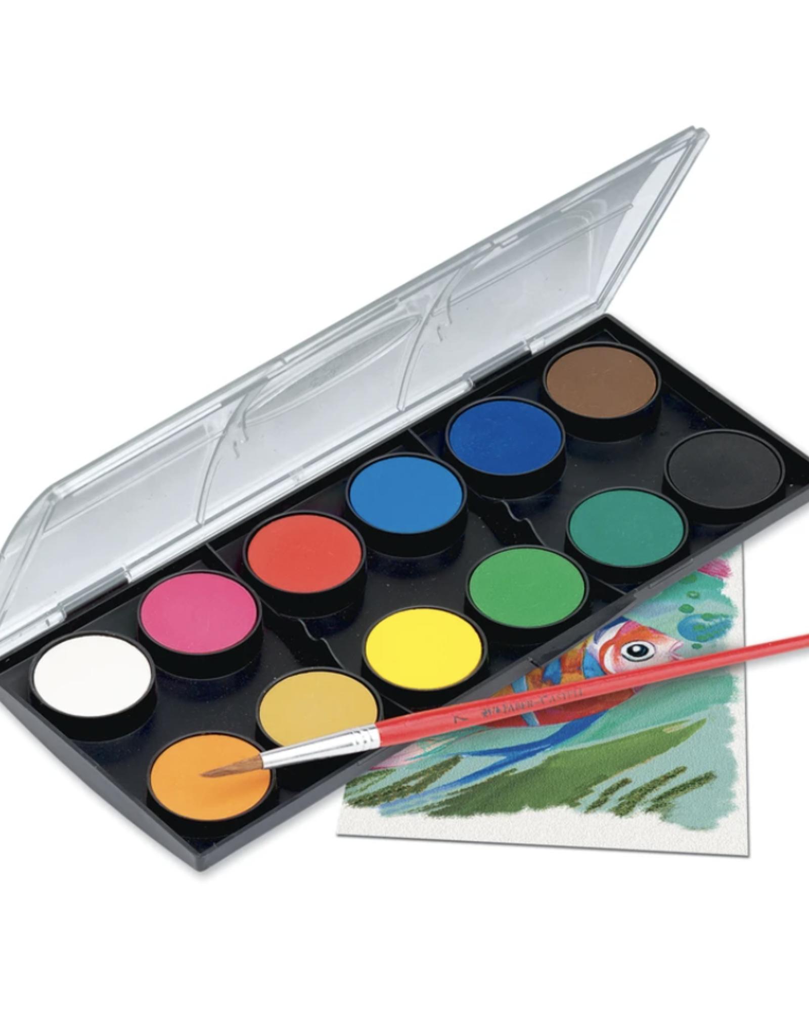 Faber Castell Watercolor Paint Set - 12ct