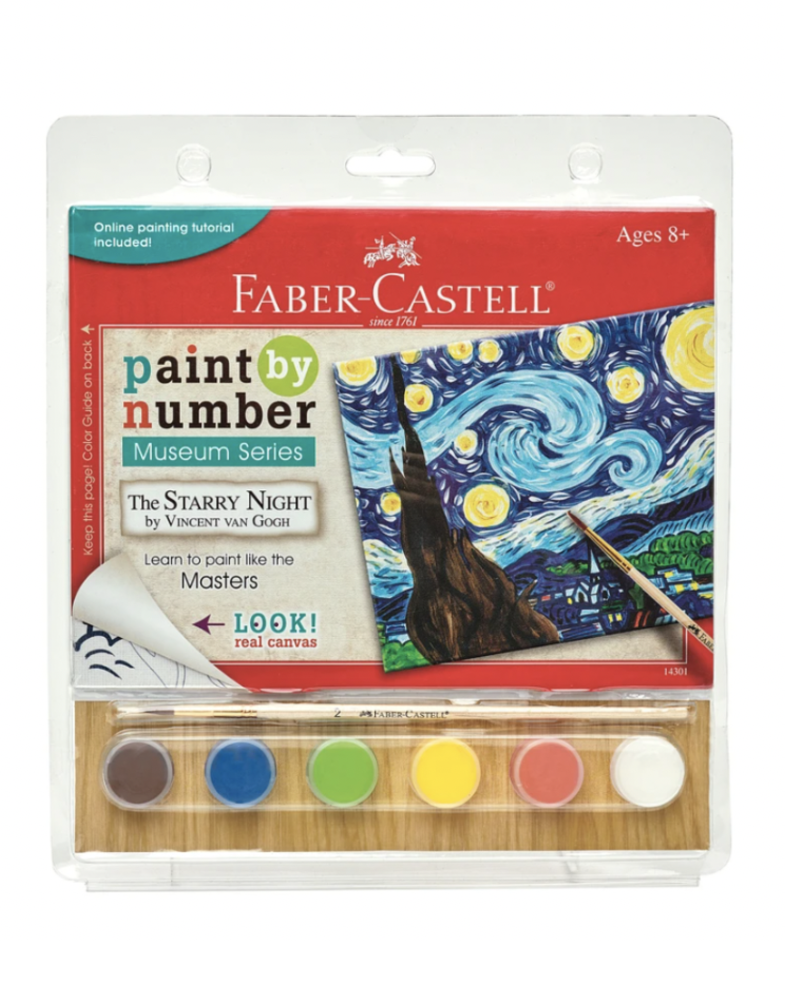 Faber Castell Paint By Number Museum Series - The Starry Night