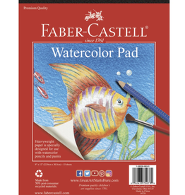 "Faber Castell Watercolor Pad 9"" x 12"