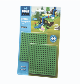 Plus-Plus Plus Plus - Baseplate Duo Green