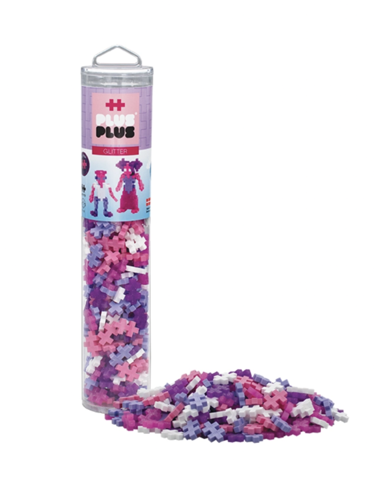 Plus-Plus Plus Plus - 240 pc Glitter Mix