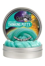 "Crazy Aaron's Puttyworld Crazy Aaron's Putty - Cosmic Infinite Nebula 4"" Tin"