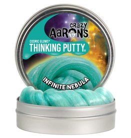 Crazy Aaron's Puttyworld Thinking Putty 4'' Tin - Cosmic Infinite Nebula