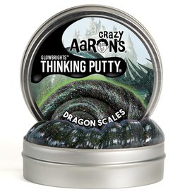 "Crazy Aaron's Puttyworld Crazy Aaron's Putty - Dragon Scales 4"" Tin"