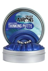 Crazy Aaron's Puttyworld Thinking Putty 4'' Tin - Magnetic Tidal Wave