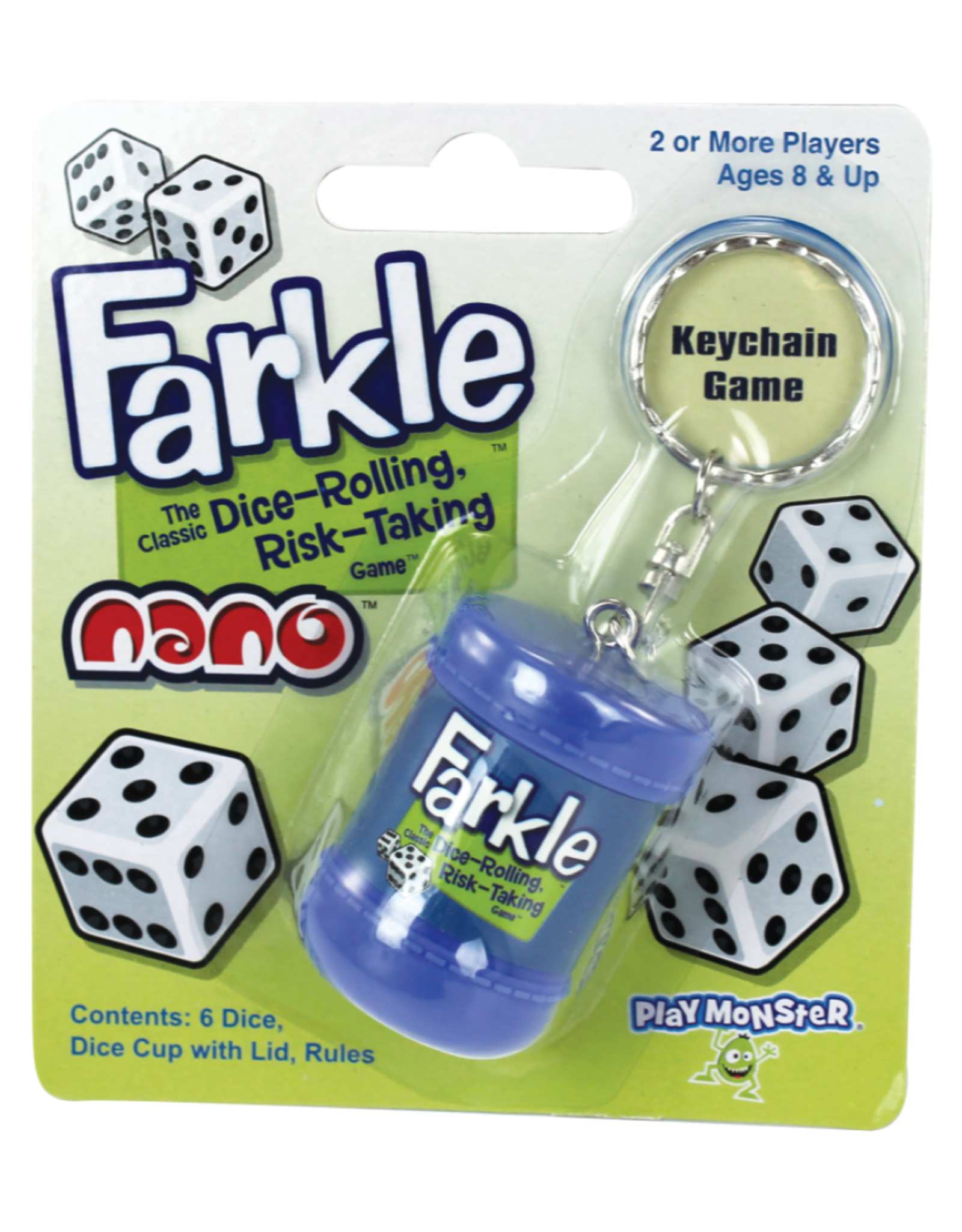 FARKLE Farkle Nano Keychain